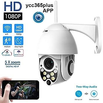 Cámara WiFi Cámara Ptz IP Al Aire Libre H.265 + 1080P Cámara ...