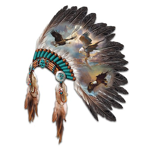 The Soaring Spirits By Ted Blaylock Eagle Art Wall Decor by The Bradford Exchange
