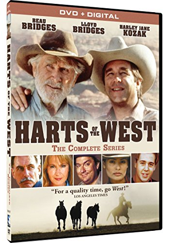 Harts of the West - The Complete Series + Digital -  DVD, Beau Bridges