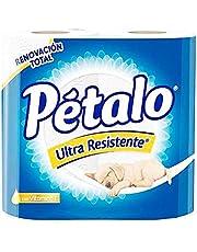 Petalo Petalo Papel Higienico Ultra Resistente 300 Hd 4 Pz, color, 300 count, pack of/paquete de