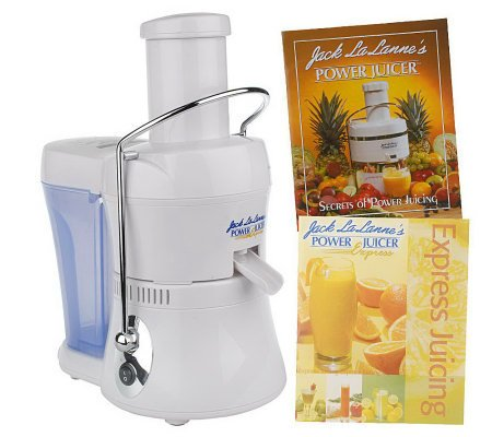 Heaven Fresh Slow Juicer Review : White Jack Lalanne Compact Power Juicer Express Deluxe Recipe Juice Get Fruit eBay