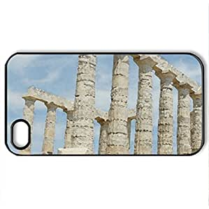Athens - Case Cover for iPhone 4 and 4s (Ancient Series, Watercolor style, Black)