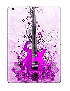 Ipad Case - Tpu Case Protective For Ipad Air- Guitar Music