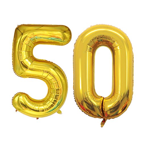 50 birthday numbers - 2