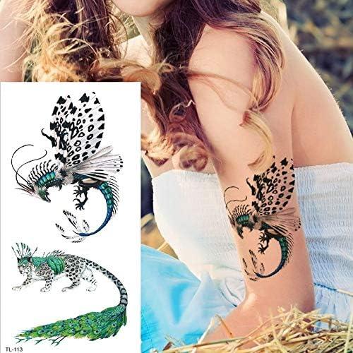 tzxdbh Tatuajes temporales libélula Tatoo Animales de Dibujos ...