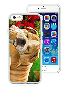 linJUN FENGPopular Sell iPhone 6 Case,Christmas Dog White iPhone 6 4.7 Inch TPU Case 32