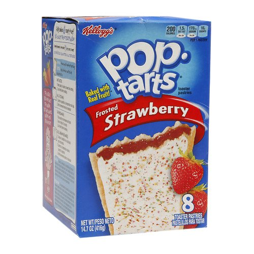 Pop Tarts Toaster Pastries, Strawberry 8 ea(Pack of 1)