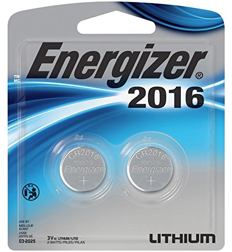 3V Lithium Button Cell Battery Retail Pack - 2-Pack (2016BP-2) - ()