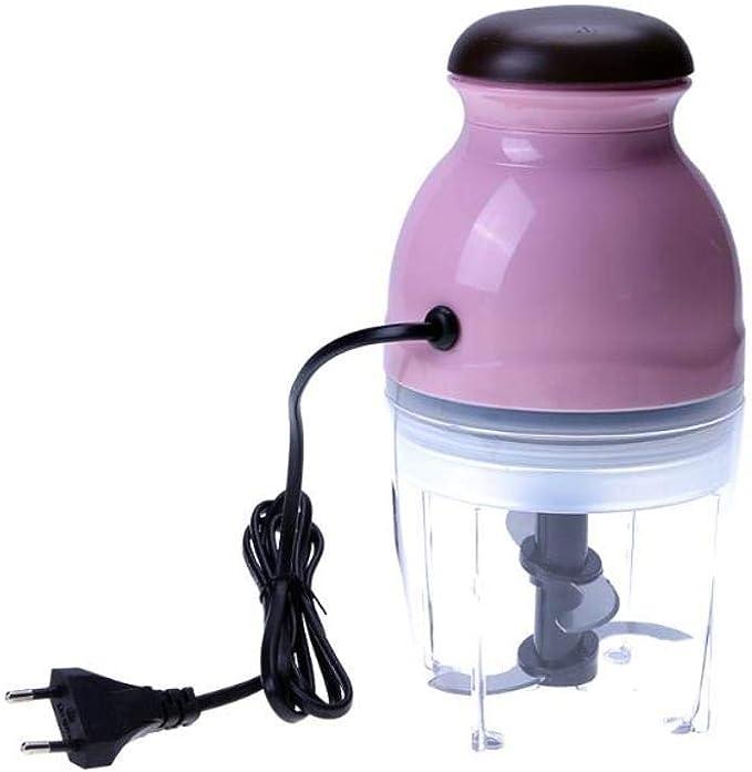 Mini picadora de carne eléctrica batidora batidora amoladora amoladora exprimidor robot de cocina para cocina: Amazon.es: Hogar