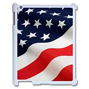 Custom Colorful Case for Ipad 2,3,4, American Flag Cover Case - HL-R643812