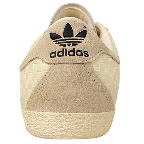 Basse Bianco Sneakers Per Anni Intrecciati Gazzella Adidas Dell'uomo '70 PqHnxS55Bw