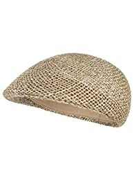 Gemvie Men Breathable Mesh Summer Ivy Hat Newsboy Beret Cabbie Flat Cap
