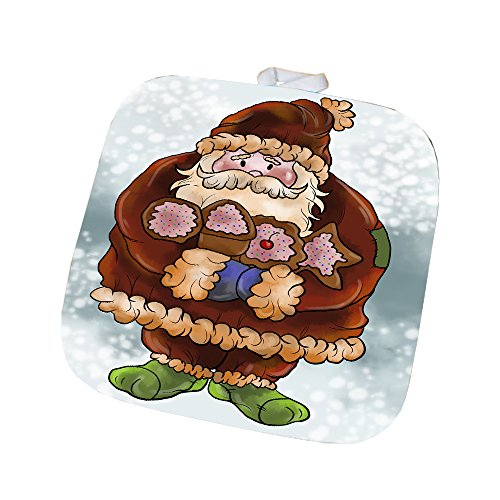 Merry Christmas Happy Holiday Pot Holder D424