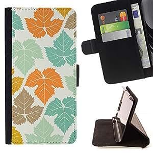 Momo Phone Case / Flip Funda de Cuero Case Cover - Canadá Modelo blanco del trullo de Orange - LG G4