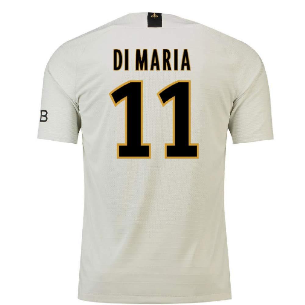 2018-19 PSG Away Football Soccer T-Shirt Trikot (Angel Di Maria 11) - Kids