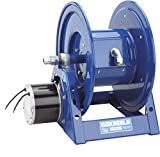 Coxreels 1125PCL-8M-A Compressed Air #4 Gast Motor Rewind Cord Reel: 12 AWG, 3 Conductors, 250' cord capacity, less cord, 600V, 45 AMPS