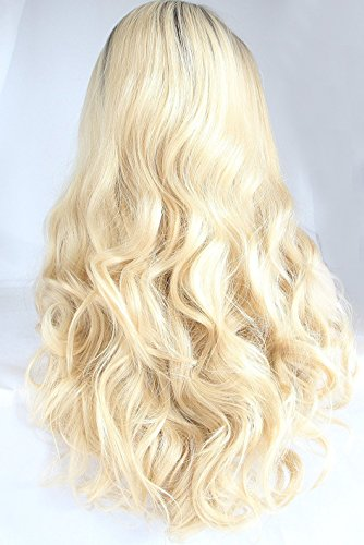 Ebingoo-Long-Curly-Synthetic-Lace-Front-Wig-Dark-Root-Ombre-Blonde-Full-Hair-Wigs-For-Black-Women