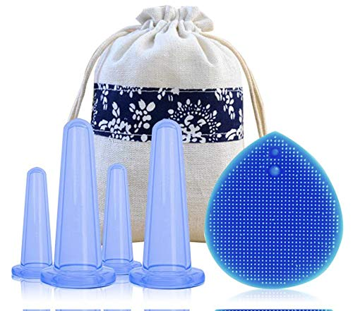 Meili Silicone Facial Cupping Therapy Set - Eye and for sale  Delivered anywhere in USA