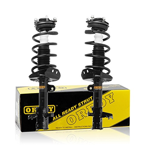 (OREDY Front Pair Complete Struts Assembly Driver and Passenger Side Shock and Struts Coil Spring Assembly Kit 11605 11606 1333365L 1333365R Compatible with Honda CRV 2007 2008 2009 2010 2011)