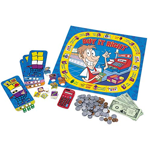 Learning Resources Buy It Right Shopping Game, 2-4 Players, Ages 6+