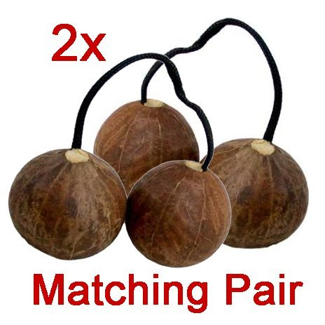 Matching Pair of Authentic Aslatua Kashaka from Africa - 2 included by Africa Heartwood Project