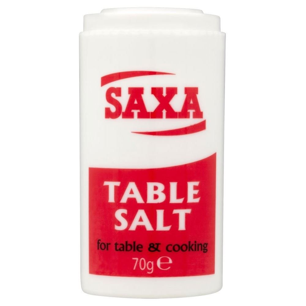 Saxa Table Salt (70g) - Pack of 6