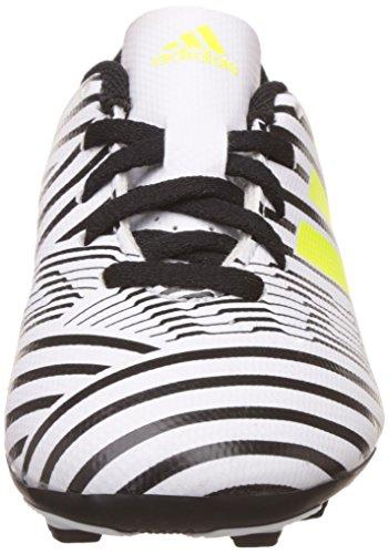 adidas Nemeziz 17.4 Fxg J, Zapatillas de Fútbol Sala Unisex Niños Multicolor (Ftwr White/solar Yellow/core Black)