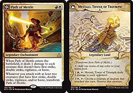 Path of Mettle // Metzali, Tower of Triumph - Rivals of Ixalan