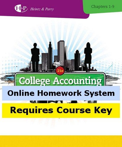 Cengagenow For Heintz Parrys College Accounting  21St Edition