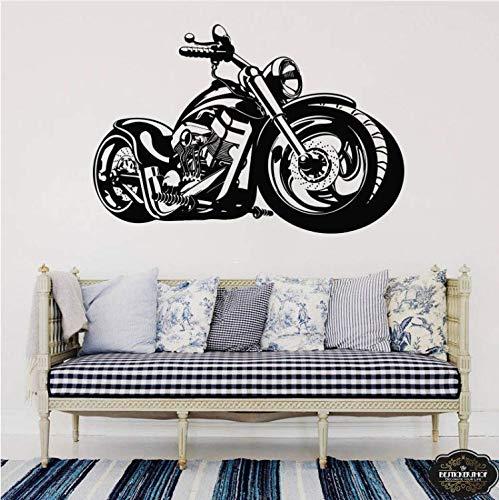 ZHUWall Motocicleta Etiqueta De La Pared del Arte para Los ...