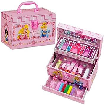 Valise maquillage multiplateaux Princesses DISNEY