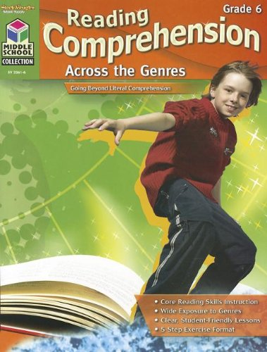 Download Reading Comprehension Across the Genres: Reproducible Grade 6 PDF