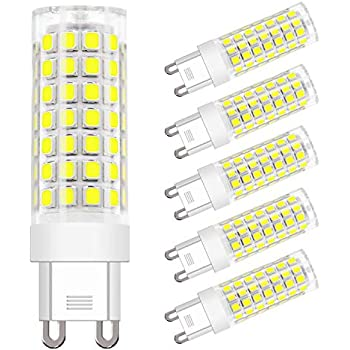 Dicuno G9 Led Light Bulbs 4 5w 50w Halogen Equivalent