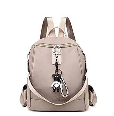 07c89f1a4bc5 Amazon.com: Female Oxford cloth backpack female bag Korean version ...