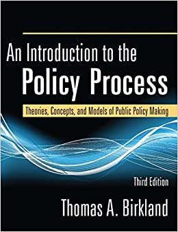 An Introduction to the Public Policy