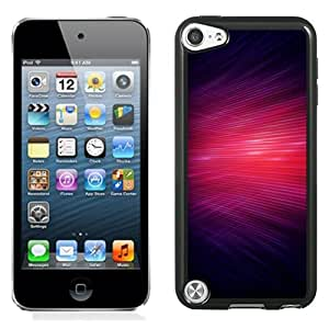 NEW Unique Custom Designed iPod Touch 5 Phone Case With Red Lasers Overlap_Black Phone Case