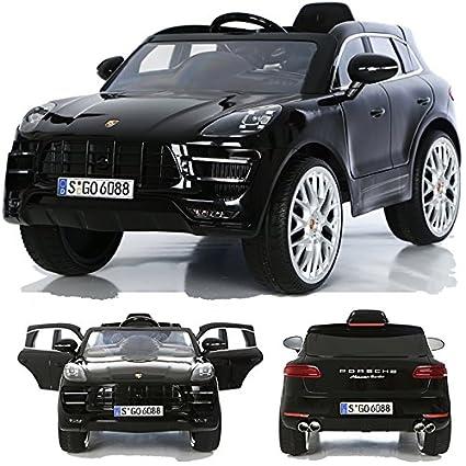 CROOZA - PORSCHE Porsche Macan Turbo muchos LED efectos Soft Start Niño Infantil para coche vehículo