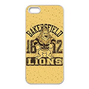 Lion Logo High Quality Custom Protective Phone Case Cove For Iphone 5S