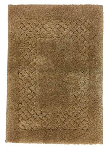 Chaps Seahorse Tan Plush Pile Throw Rug 17x24 Skid Resistant Bath Mat (Horse Chaps)