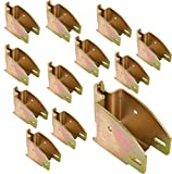 E Track 1845 Beam Socket for Cargo Control, Shelf Brackets, Lofts Inside of Trailers - 12 Pack