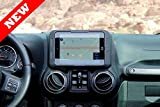 Carrichs TDK616 - 2011-2017 Jeep Wrangler Tablet Dash Mount Kit for Apple iPad Mini 1 2 3