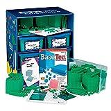 ETA hand2mind Green ManipuLite Foam Base Ten Blocks Math Lab