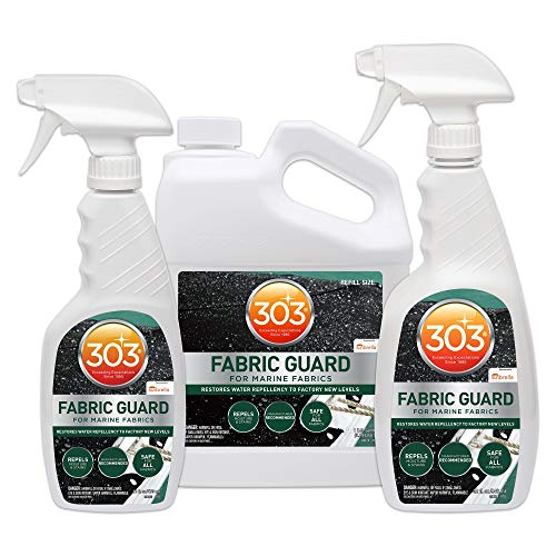 303 128 Oz Btl of Marine Water Repellent & Fabric Stain Protection (3 Pack) by 303 Products (Image #1)