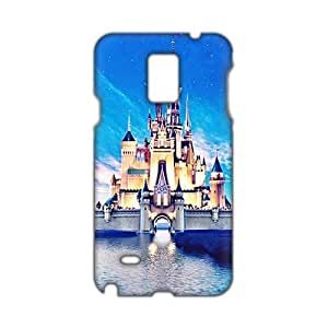 Angl 3D Case Cover Disney Castle Phone Case for For Iphone 5/5S Cover