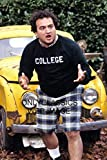OnlyClassics John Belushi Animal House 12X18 Poster John Bluto Blutarsky in College Shirt
