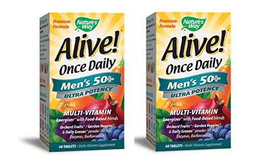 Nature's Way Alive Once Daily Men's 50+ Ultra Potency Tablets