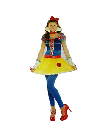 Teen Girls Disney Princess Snow White Costume (Small)  sc 1 st  Amazon.com & Amazon.com: Teen Girls Disney Princess Snow White Costume: Clothing