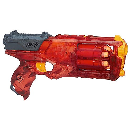 NERF N-Strike Elite Sonic Fire Strongarm Blaster 6-Dart Slam Fire