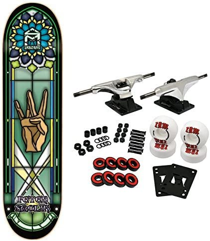Skate Mafia monopatín 8,19 Sk8 Mafia vidrieras Smolik: Amazon.es: Deportes y aire libre