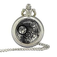 Doctor Tardis Pocket Watch Dr. Who Locket Firefly Serenity Pendant Locket Keychain Key Chain
